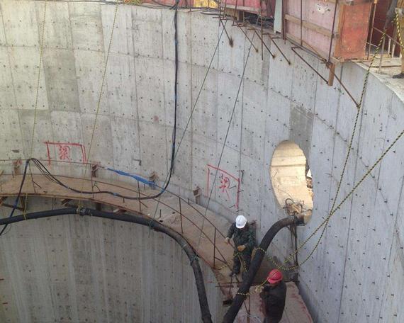 沉井施工工程