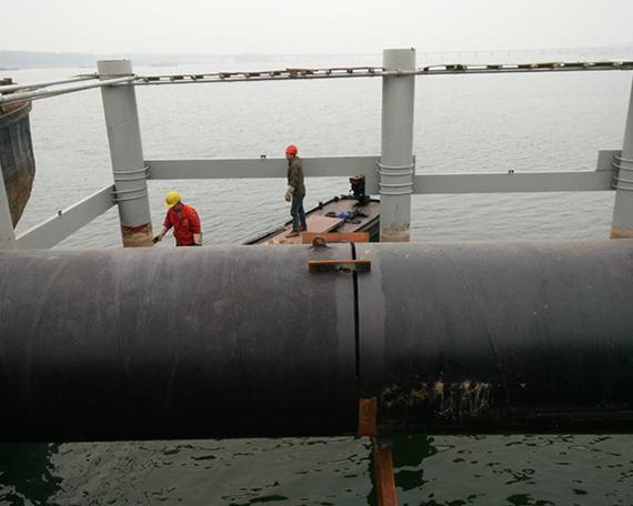 水下安装工程作业