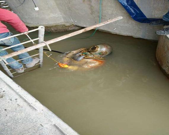 水下作业案例
