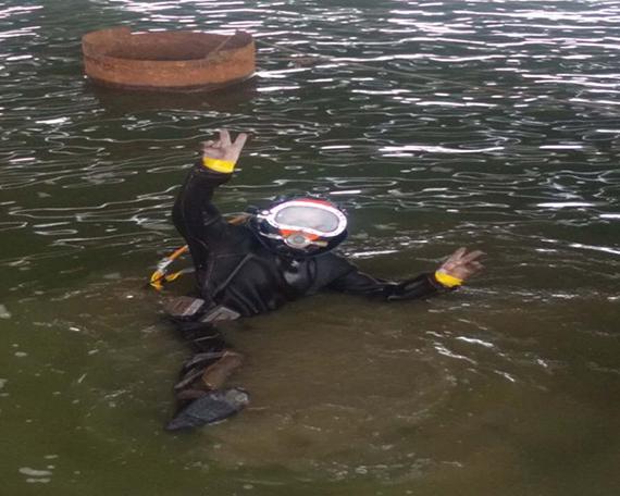 上海水下切割案例